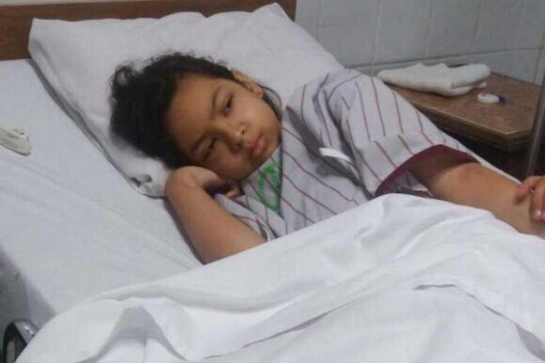 Niña de Miami vino de vacaciones al país y regresó en avión ambulancia
