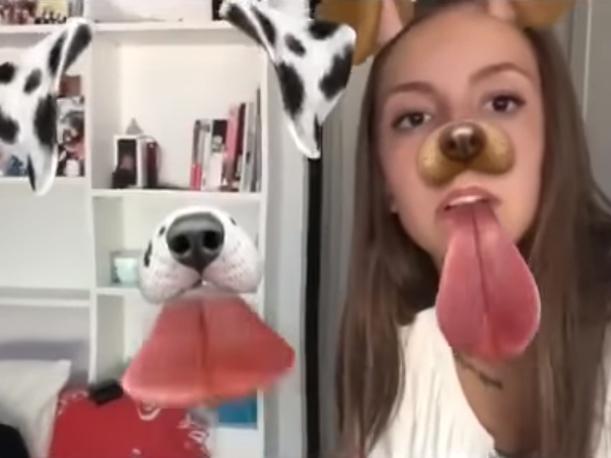 video de Snapchat