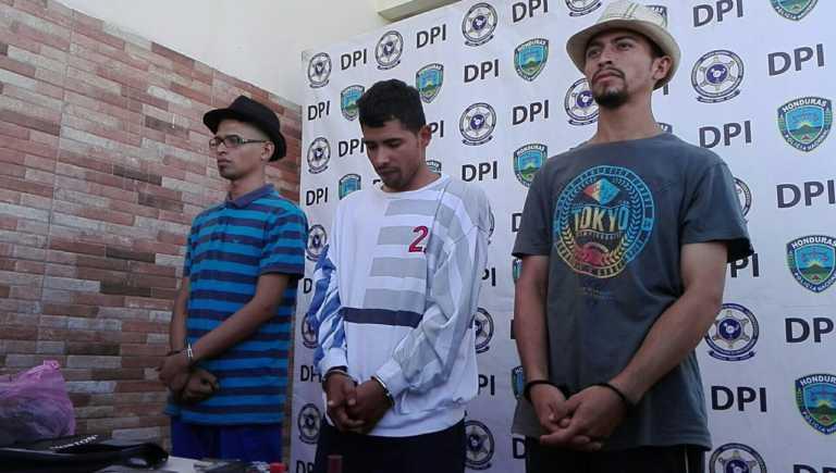 Comayagüela: detenidos dos hermanos y gatillero de la mara 18