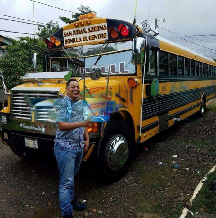 Tiroteo en bus urbano en La Ceiba