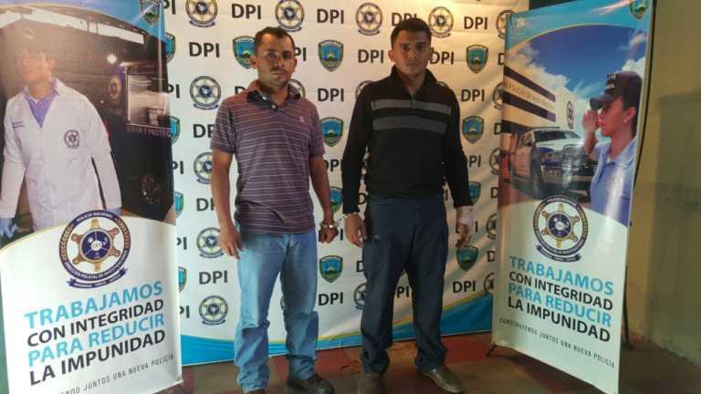 Choluteca: Policía Nacional captura a dos supuestos homicidas