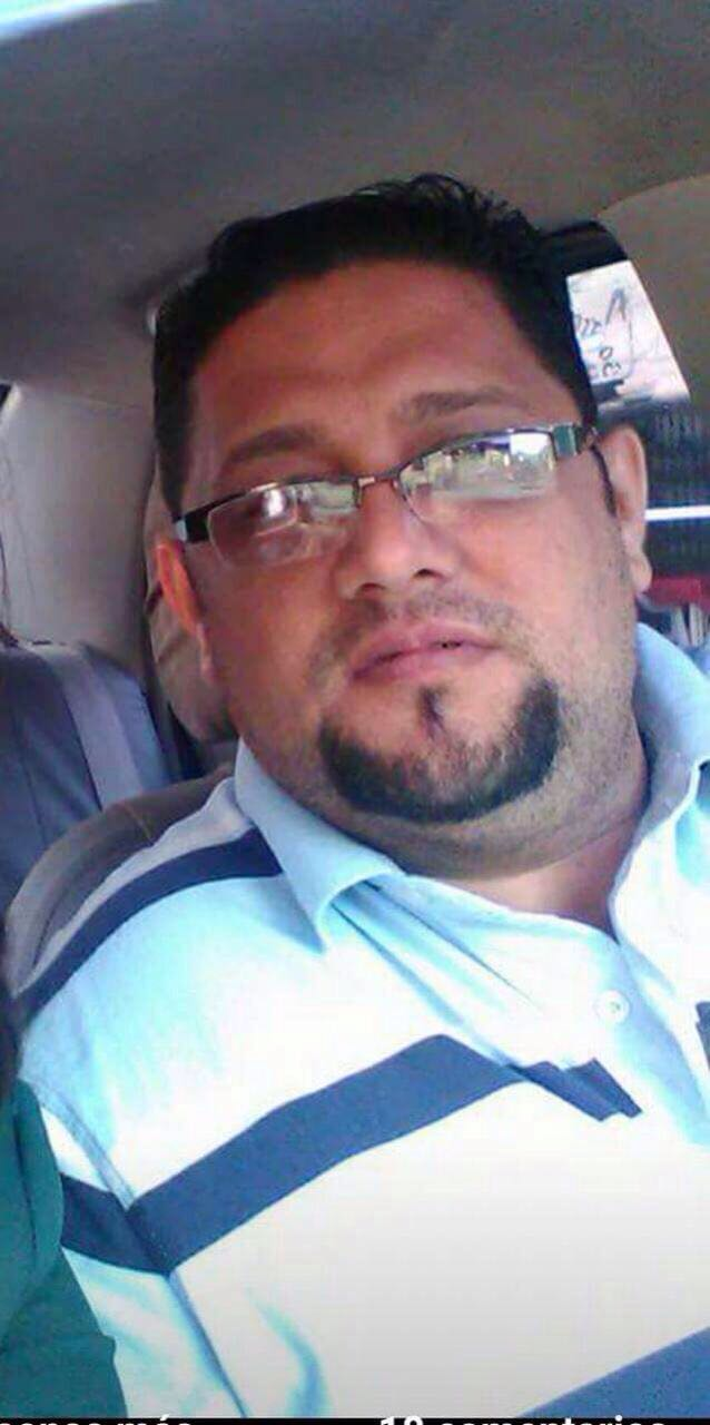 Imagen en vida del accidentado en la zona norte de Honduras