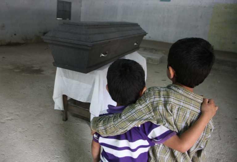 Asesinatos de menores siguen teniendo cifras altas en Honduras