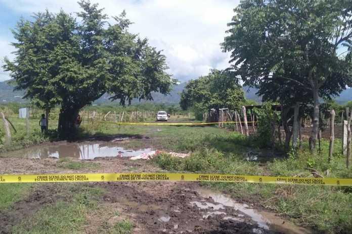 cuerpo sin vida de una persona en Comayagua