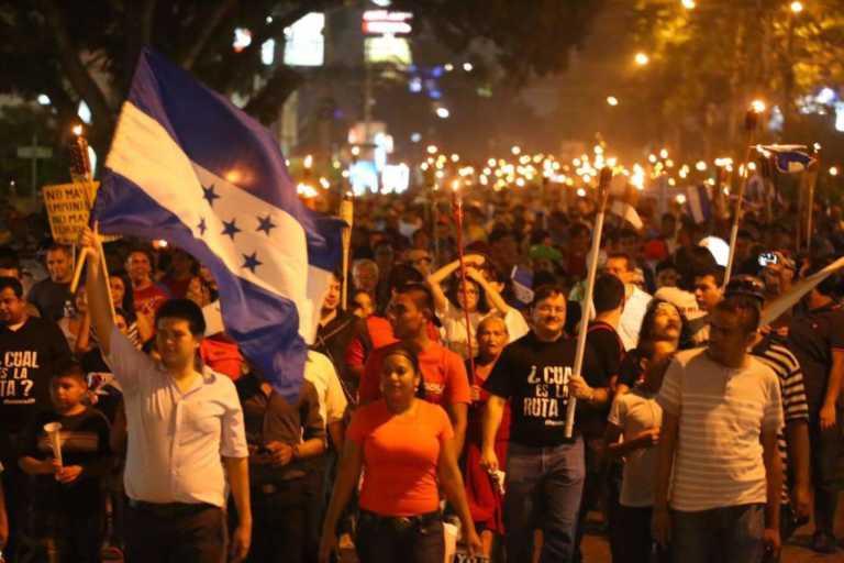 """Honduras: El próximo viernes resurgirá la """"Marcha de las Antorchas"""""""