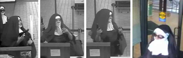 "Armadas y peligrosas: FBI busca dos ""monjas"" que asaltaron un banco"