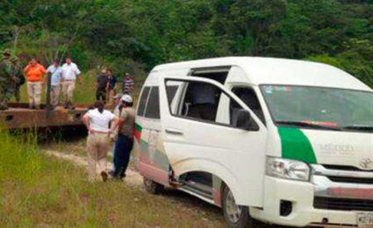 Rescatan a 13 hondureños secuestrados en México