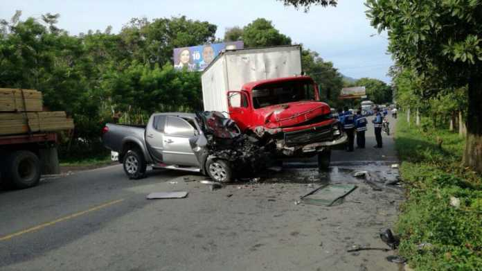 accidente en la carretera CA-13