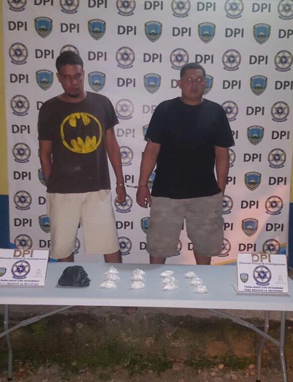 Distribuidores de droga en La Ceiba