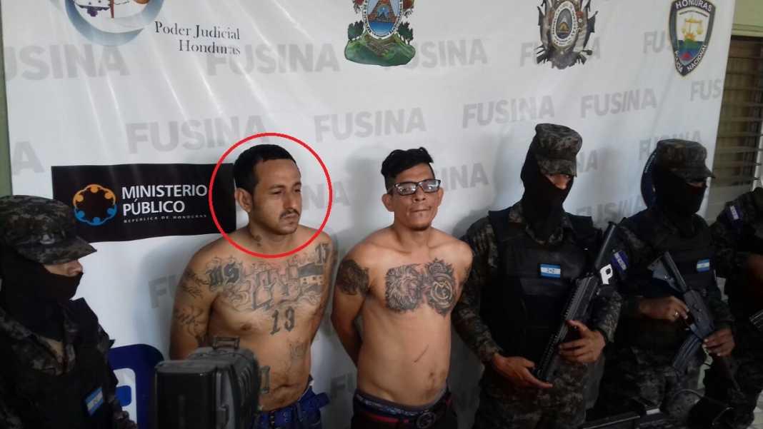 pandilleros en la Suazo Córdoba