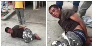 ladrón que asaltó a anciana en Comayagua