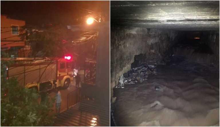 Fuertes lluvias en Tegucigalpa: Evacuan familias del Barrio El Chile por inundaciones