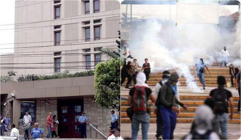 Embajada de los EEUU pide diálogo en la crisis universitaria