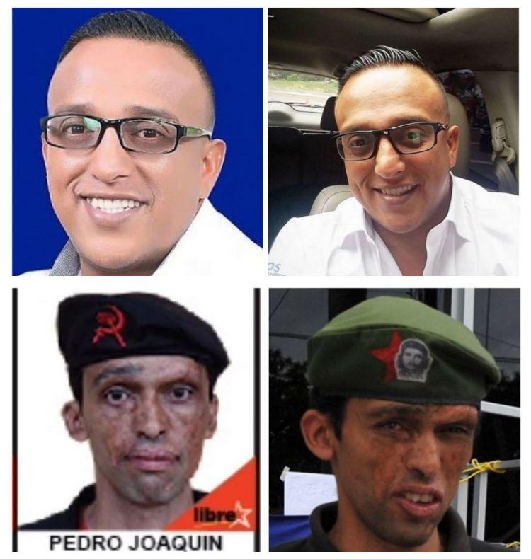 ¿Políticos hondureños abusan del Photoshop para elecciones generales?