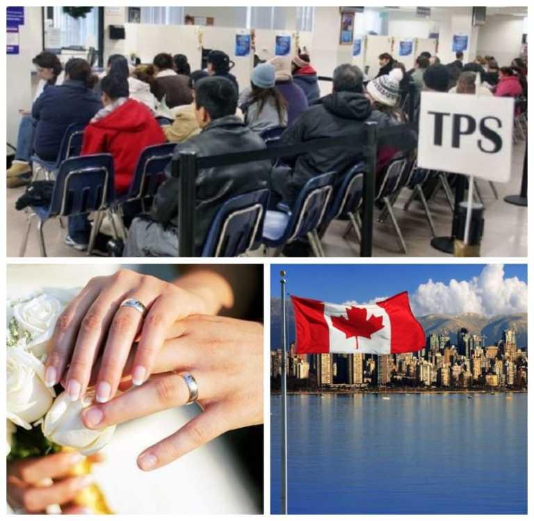 Hondureños optan por casarse o irse a Canadá ante riesgo del fin del TPS