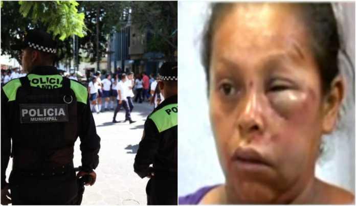 Una humilde vendedora fue víctima del abuso de autoridad de los policías municipales del Distrito Central.