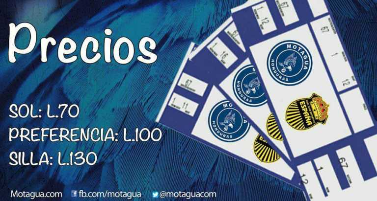 Motagua define precios para el juego contra Real España
