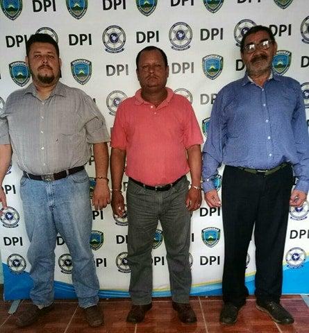 DPI captura a tres ex funcionarios públicos de la alcaldía de Taulabé