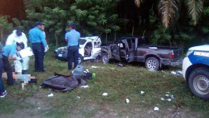 Accidente en la carretera CA-13