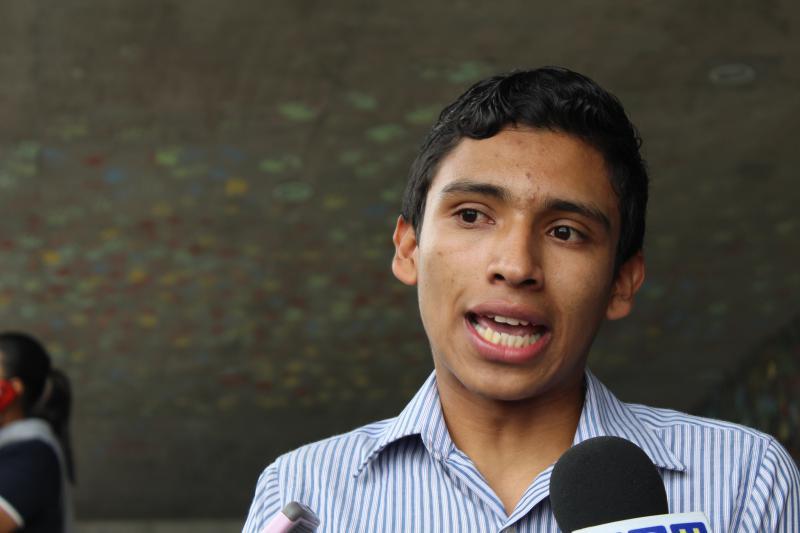 Tras el desalojo de los estudiantes en la UNAH, se emitió un requerimiento fiscal contra Fausto Cálix y ocho estudiantes más.