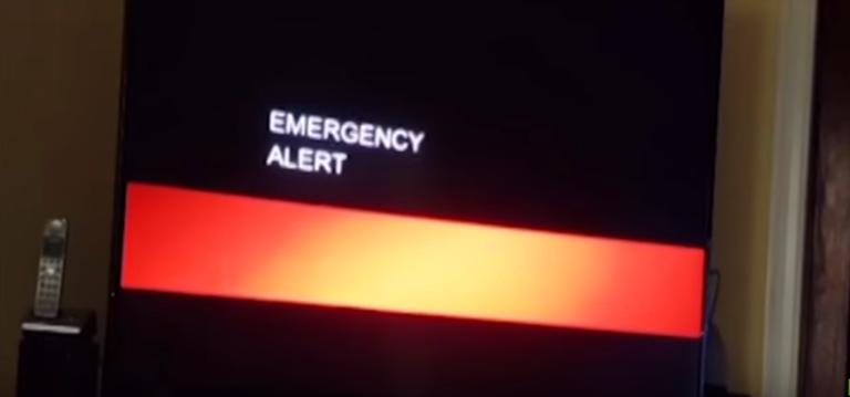 Trasmisión televisiva en EEUU interrumpida por video del fin del mundo