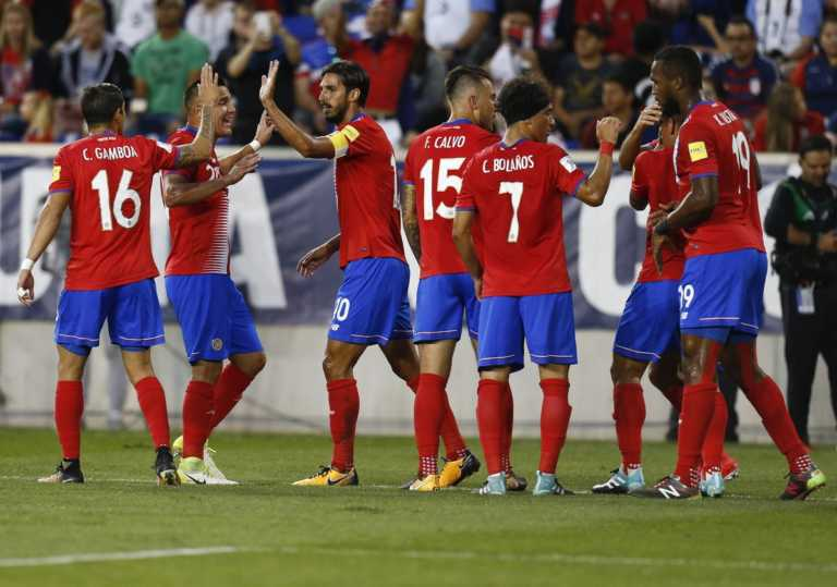 Costa Rica doblega de visita a Estados Unidos