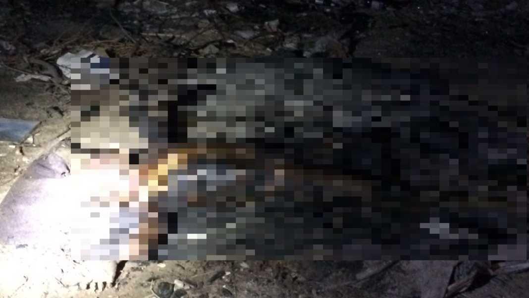 queman cadáver en Chamelecón