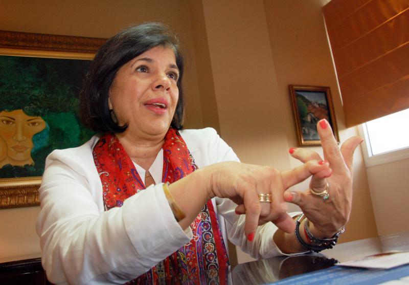La expresidenta del Consejo Hondureño de la Empresa Privada (Cohep), lidera la Plataforma para la Democracia que se unirá a la marcha de antorchas.