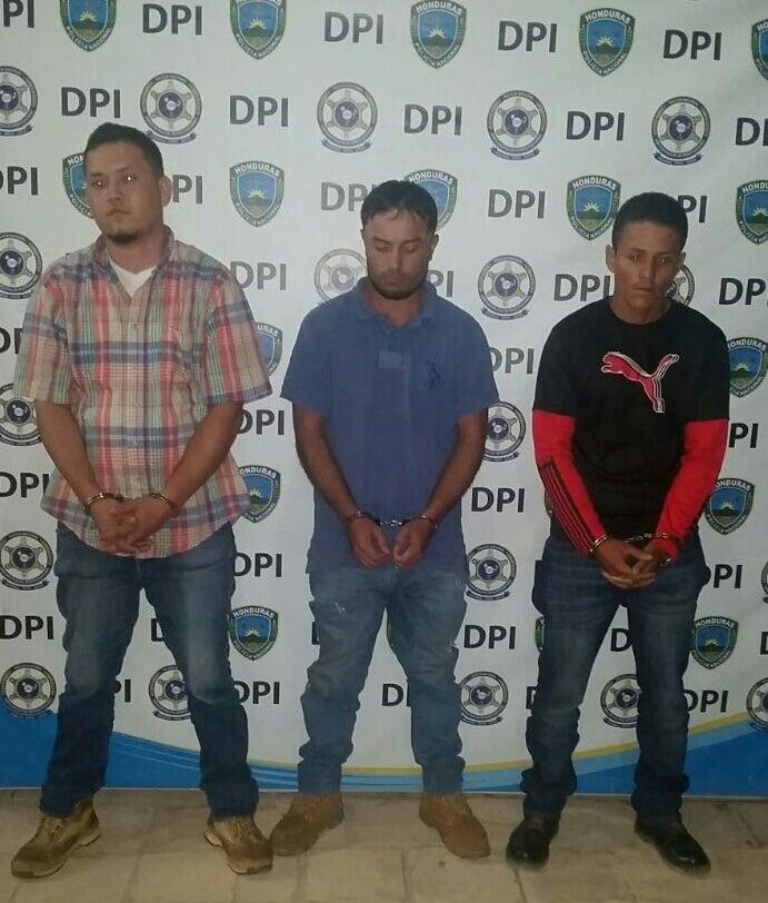Capturan a tres sospechosos de femicidio en Lempira
