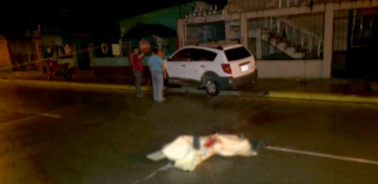 Una persona muere atropellada en San Pedro Sula
