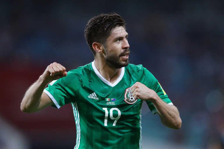 Oribe Peralta de regreso en la Selección de México para los duelos ante Trinidad y Honduras