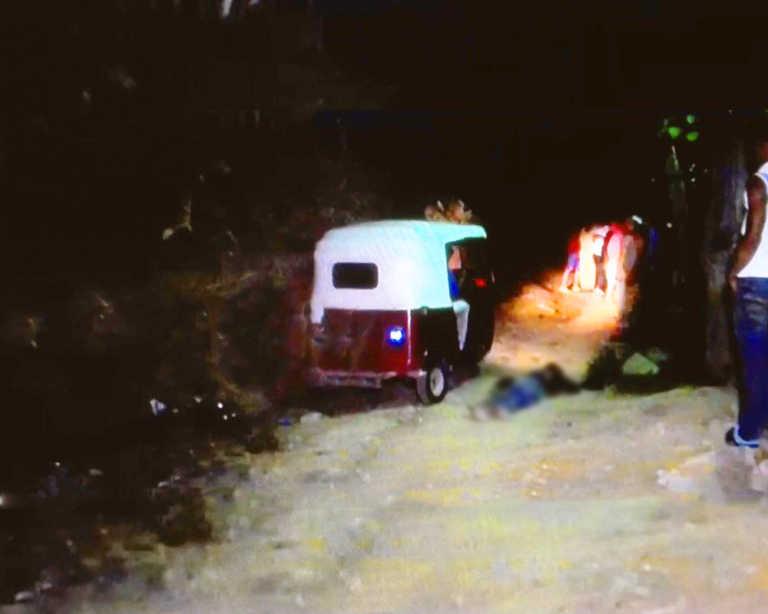 Un muerto y un herido por posible pelea territorial en Petoa
