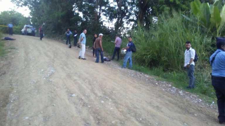 Pareja fue asesinada en remoto sector de Puerto Cortés