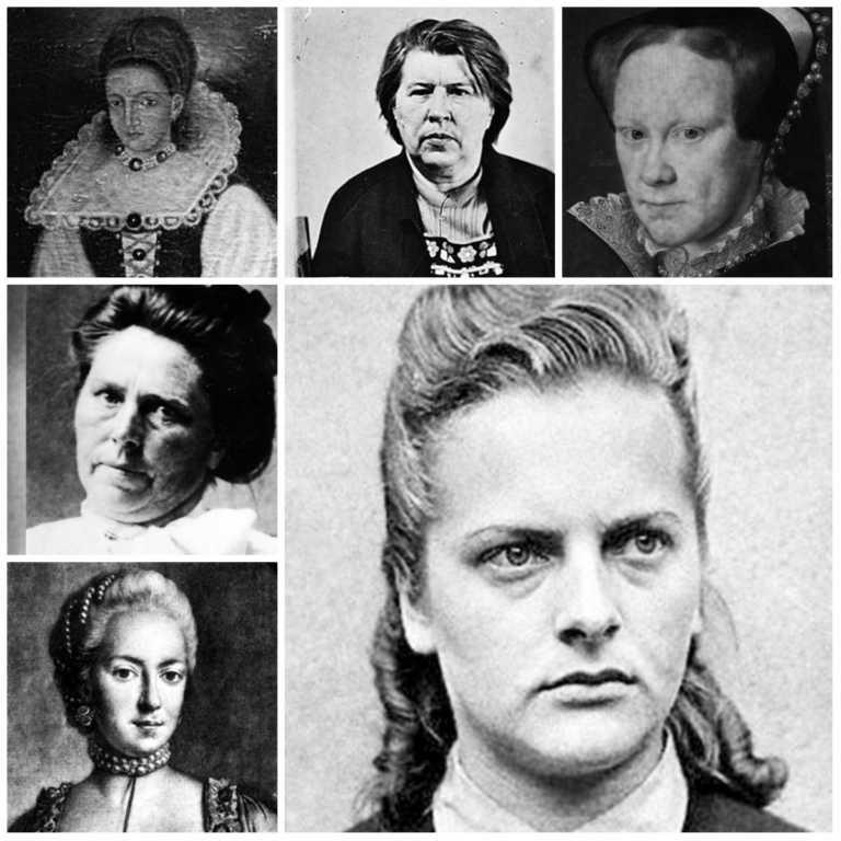 El 'top 6' de mujeres más crueles de la historia