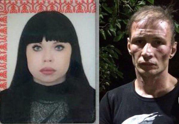 Una pareja de caníbales rusa