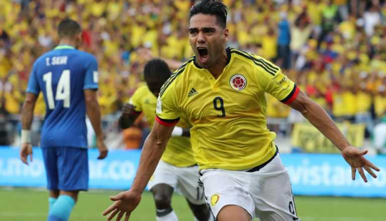 Falcao salva punto para Colombia y Brasil empata después de 9 triunfos