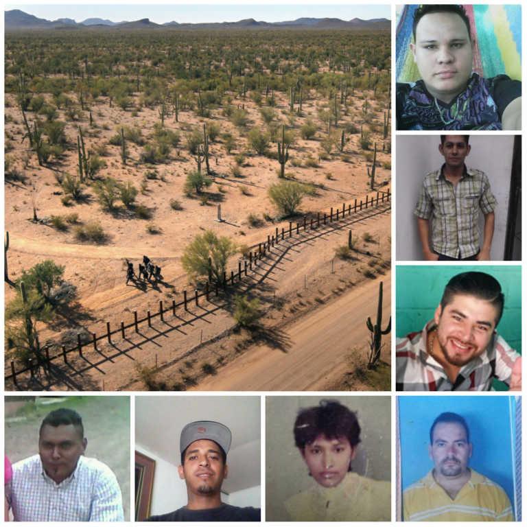 Desaparecidos en Frontera: buscan desesperadamente a siete hondureños