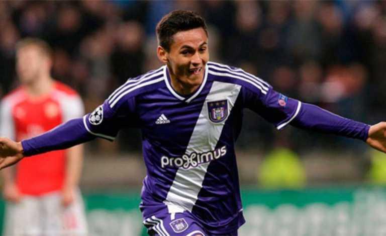 Andy Najar recibe alta médica y es titular con el Anderlecht de Bélgica