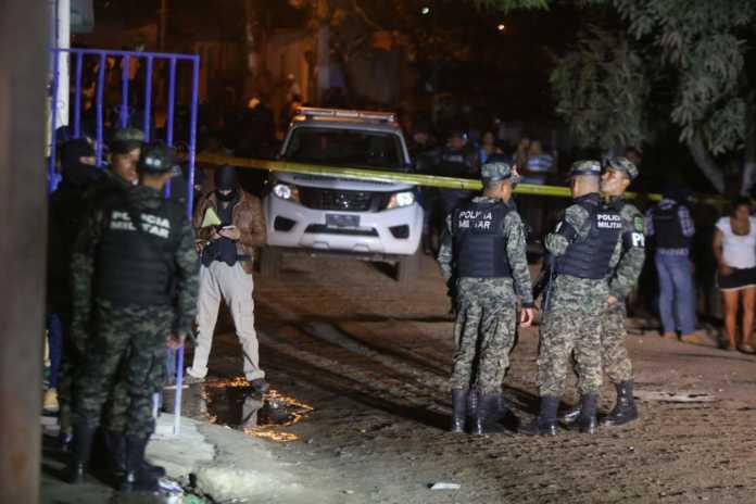 masacre en Colonia Rosa Linda