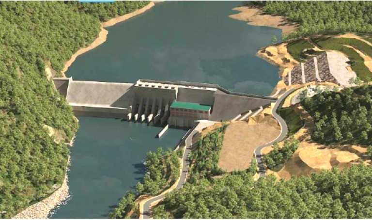 Construyen proyecto hidroeléctrico entre Villanueva y San Antonio, Cortés