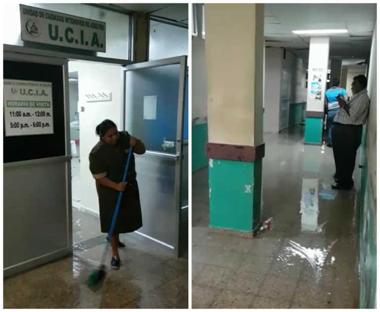 Se inunda la sala de cuidados intensivos del IHSS en SPS