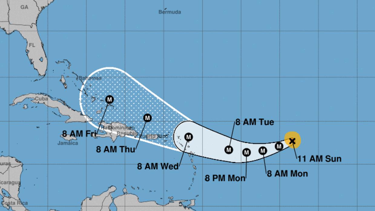 Irma aumentaría a categoría 4 al avanzar hacia Estados Unidos.