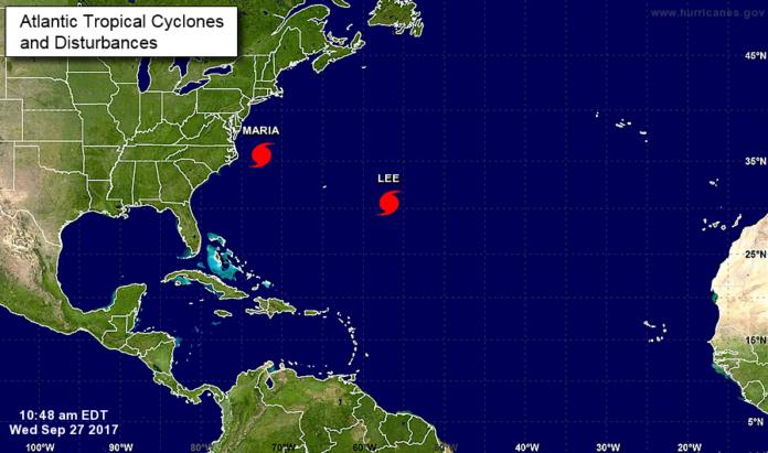 tormenta tropical lee