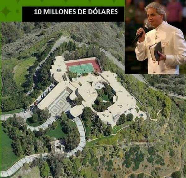 El israelí tiene una mansión valorada en 10 millones de dólares.