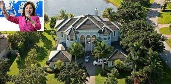 La colombiana cuenta con una mansión valorada en 1,560,190 dólares.