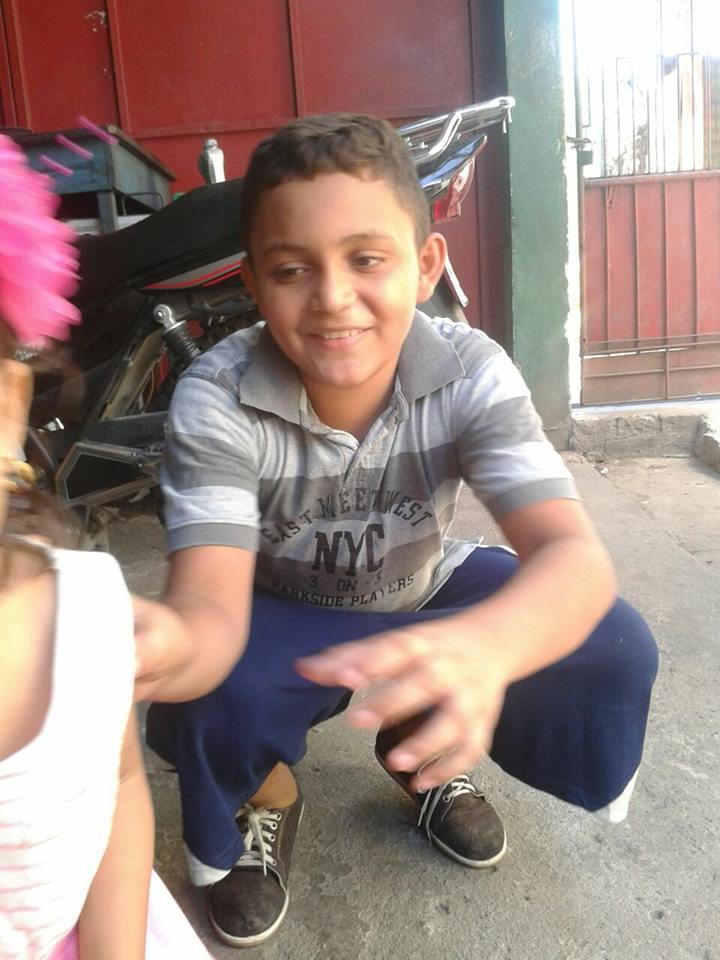 niño desaparecido en San Pedro Sula