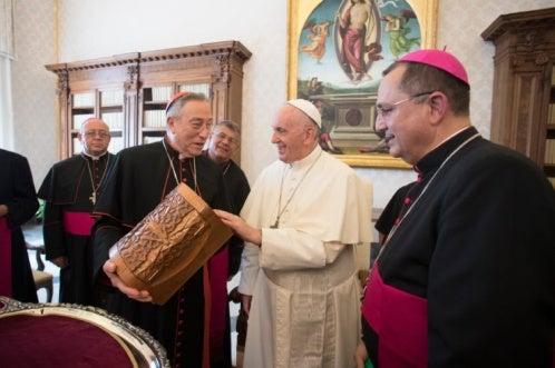 Obispos hondureños son recibidos por el Papa en el Vaticano