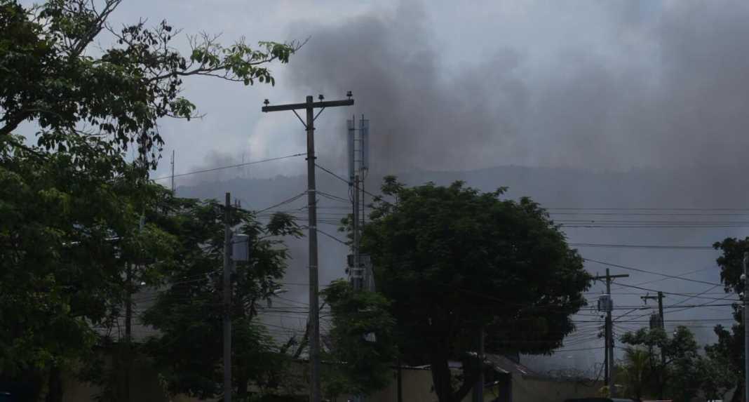 incendio en Centro Penal de San Pedro Sula