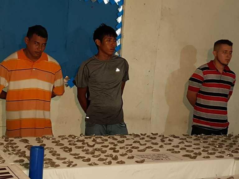 Logran fuerte decomiso de drogas en San Francisco de Yojoa, Cortés