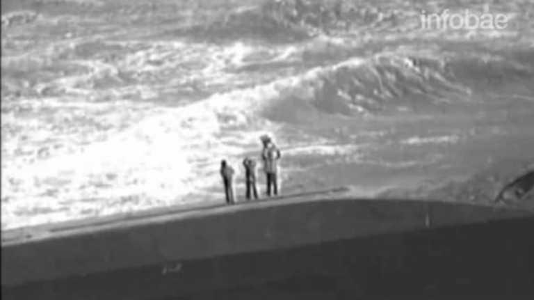 VÍDEO: dramático rescate en medio de la furia del huracán María